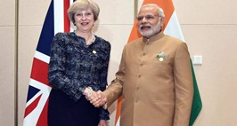 Find Out What PM Narendra Modi & British Prime Minister Theresa MayDiscussed