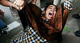 Missing JNU Student Najeeb's Mother Detained During AProtest