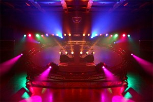 Dj booth truss cirkel 6m
