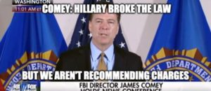 COMEY (Video): Others In 'Similar Situation' Would be Punished, But NOT HILLARY