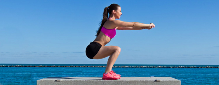 Squats for Getting Rid Of Saddlebags