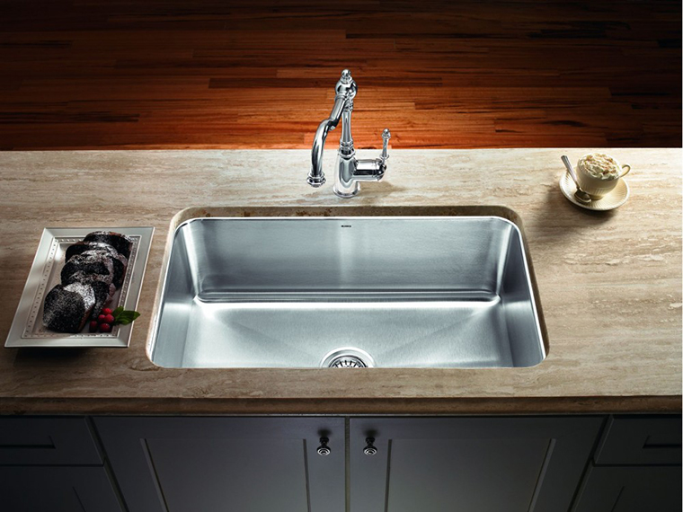 Stainless Steel Kitchen Sink #2b