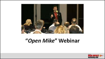 high-impact-marketing-open-mike