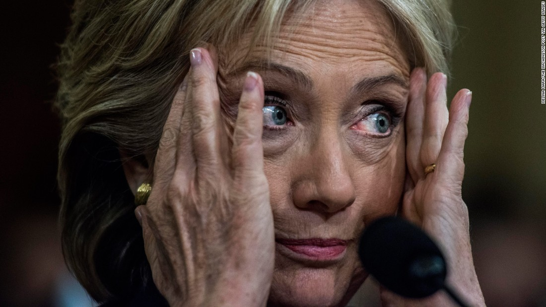 "Clinton testifies before the House Benghazi Committee on October 22, 2015. Clinton <a href=""http://www.cnn.com/2015/10/22/politics/hillary-clinton-benghazi-hearing-updates/"" target=""_blank"">mounted a passionate defense of her response to the attack,</a> which claimed the lives of four Americans in 2012. But she came under repeated criticism from Republicans who tried to prove she ignored pleas from U.S. diplomats for better security."