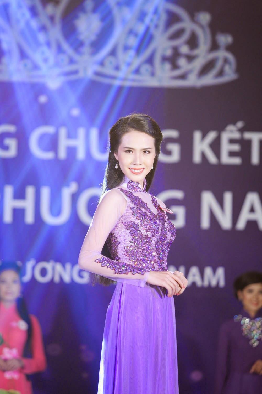 Người đẹp Vĩnh Long - Nguyễn Huệ Thanh đăng quang Hoa Khôi Phương Nam lần 1