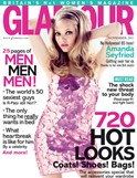 Amanda Seyfried in cover girl for November 2011 GLAMOUR