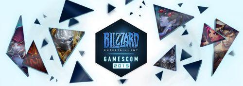 暴雪确认2015科隆游戏展发布会时间 承诺史上最大展出