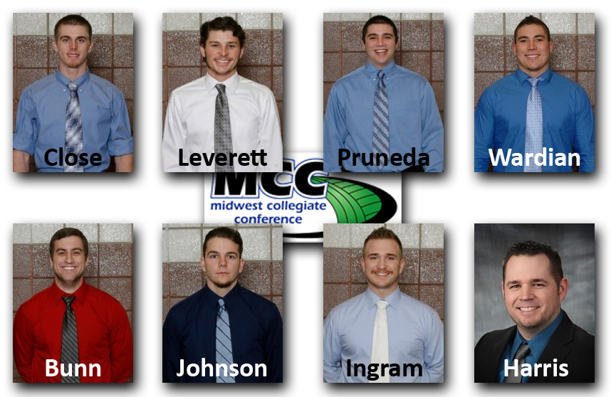 Photo for Six Named to All-MCC Baseball Team; Three to Gold Glove Team