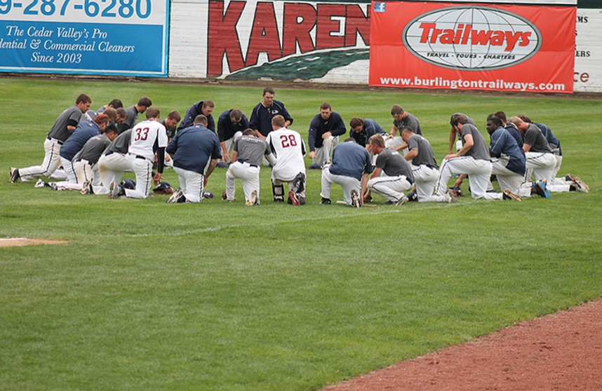 Photo for AIB Baseball Falls In Conference Championship Game