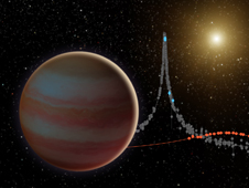 Illustration depicts a newly discovered brown dwarf