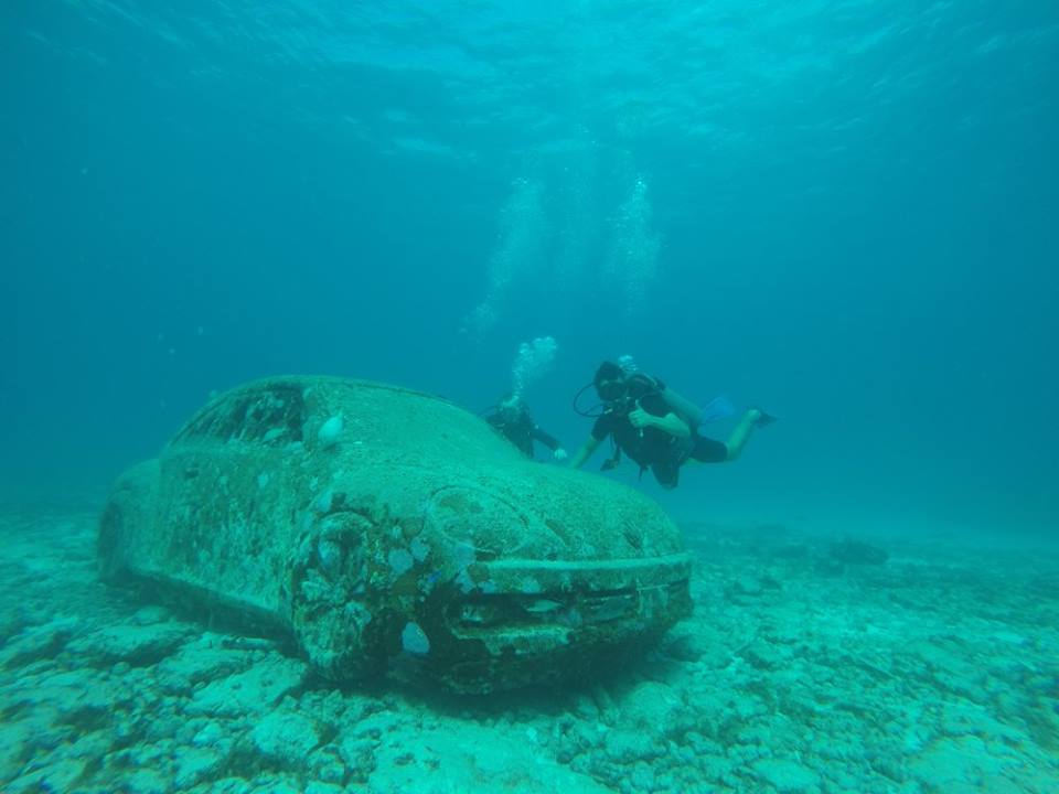 Cancun underwater museum Diving