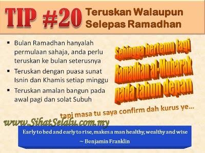 SihatSelalu.com.my 20TipDietRamadhan 20 - 20 Tip Diet di Bulan Ramadhan