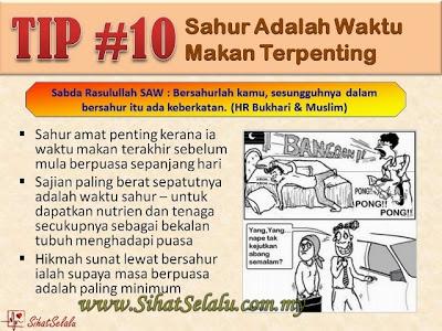 SihatSelalu.com.my 20TipDietRamadhan 10 - 20 Tip Diet di Bulan Ramadhan