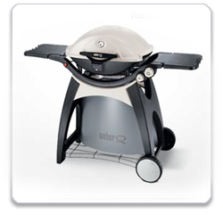 Weber Q 320 Portable Outdoor Gas Grill
