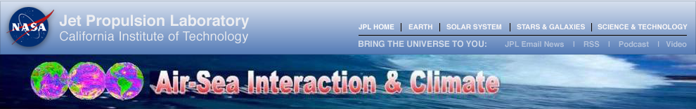 JPL global navigation bar