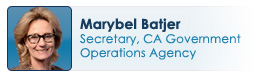 Marybel Batjer, Secretary, CA Government Operations Agency