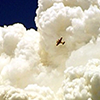 Aircraft and Cloud Image