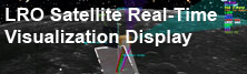 LRO Satellite Real-Time Visualization