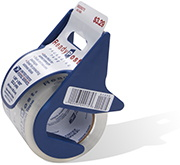 ReadyPost Clear Packing Tape w/ Dispensers