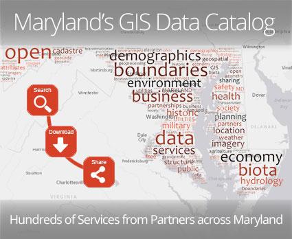 Maryland's GIS Data Catalog