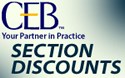 CEB Discount Program for Section Members