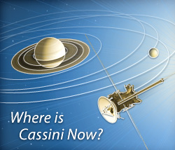 Where is Cassini Now?