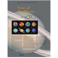 Views of Our Planets Commemorative Panel