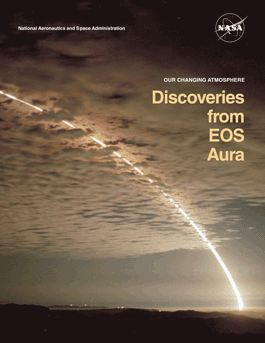 Our Changing Atmosphere - Discoveries from EOS Aura brochure cover