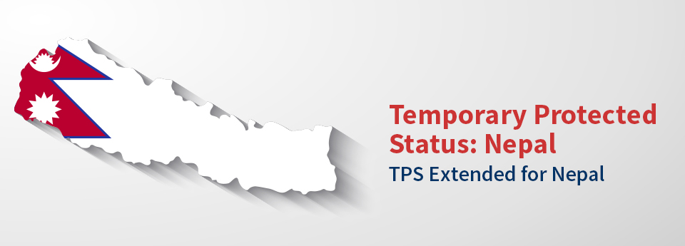 Temporary Protected Status Extended for Nepal