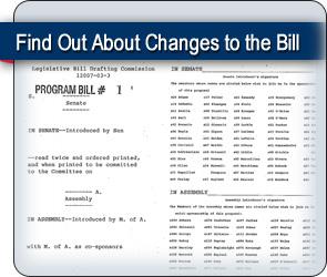 Learn more about the amendments to the SAFE Act bill