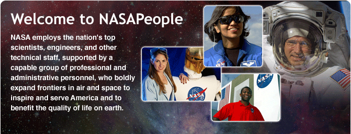 Welcome to NASAPeople