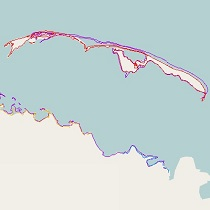 Alaska Shoreline Change Tool thumbail image
