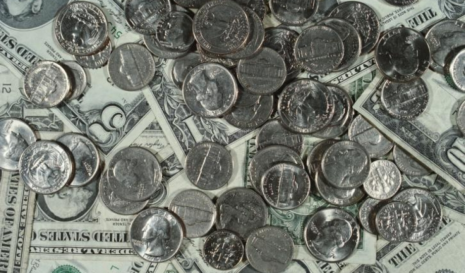 United States money: bills and coins