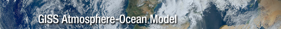 GISS Atmosphere-Ocean Model Project