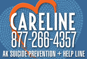 Careline Suicide prevention and Help line is 877-266-4357