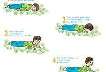 Relaxation enfants / by Aurélie / La vitamine verte