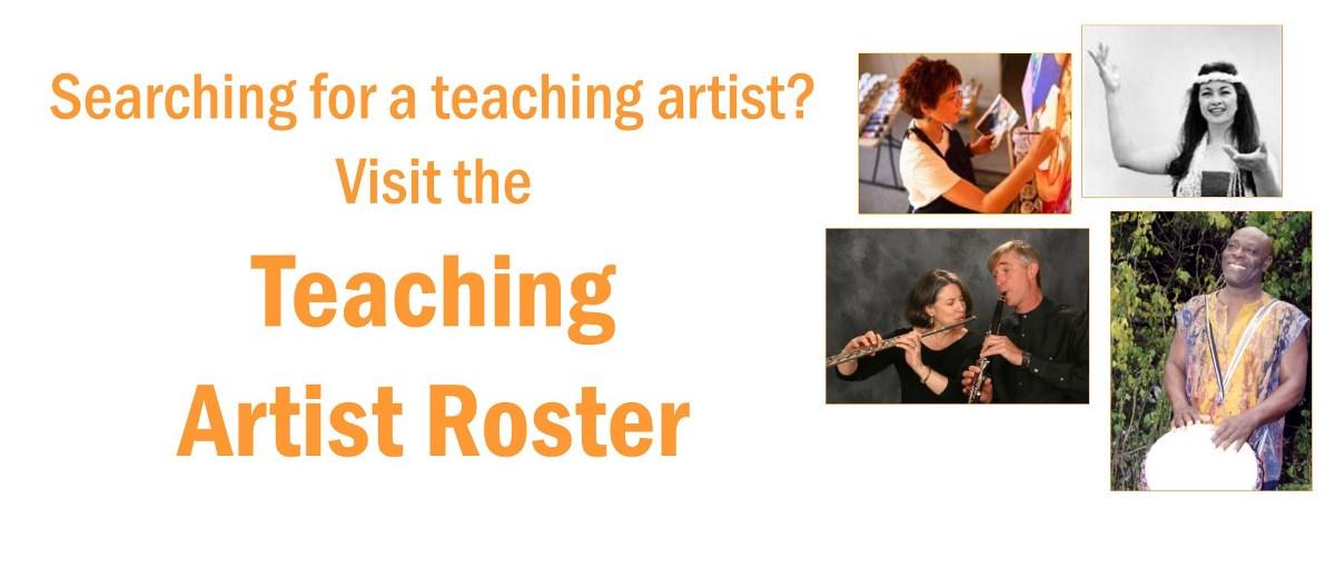Teaching Artist Roster Slider