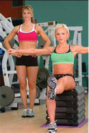 women-bench-exercise