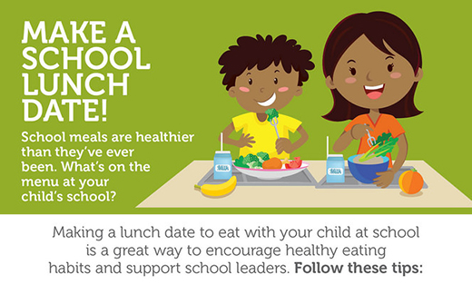 Infographic - Make A School Lunch Date