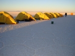walk in the Salar de Uyuni whit Andes Expediciones