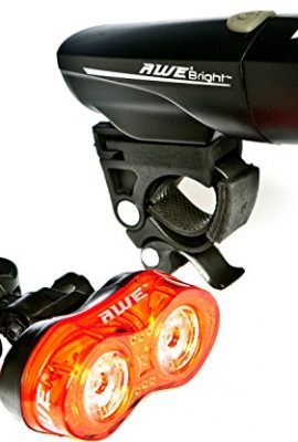 AWE-AWEBrightTM-1-x-Super-Bright-Front-LED-05W-x-2-Rear-LEDs-Bicycle-Light-Set-140-Lumens-0