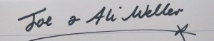 Ali & Joe Signature for the website