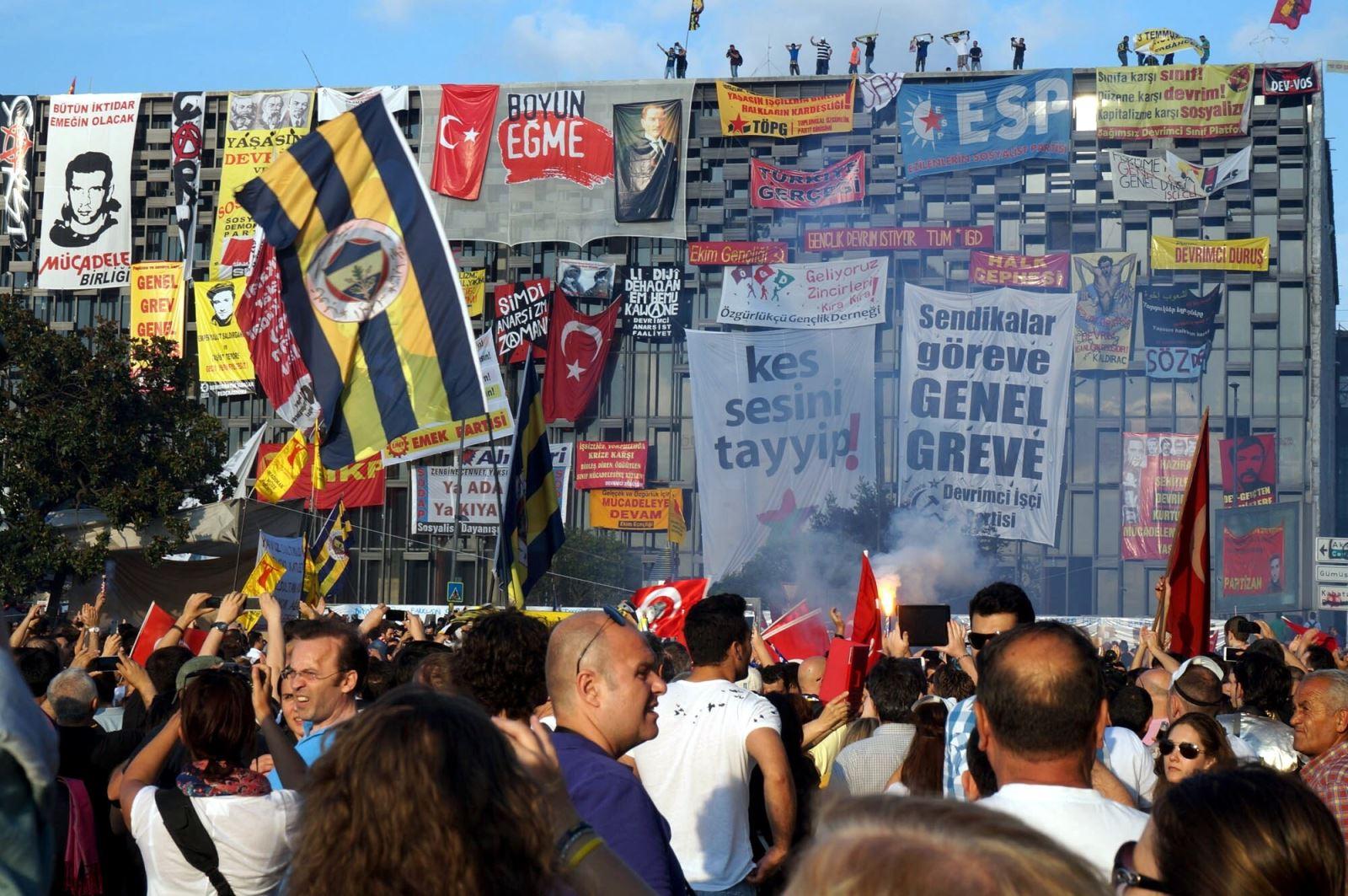 События в Гези Парке в 2013 году всколыхнули всю Турцию