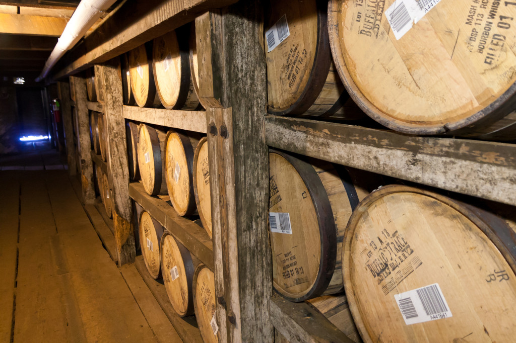 Bourbon-Barrels-Aging