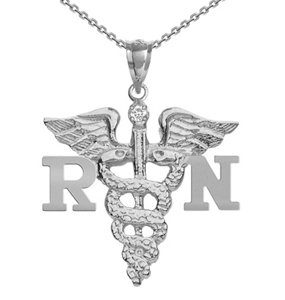 NursingPin-Registered-Nurse-RN-Charm-with-Diamond-on-Necklace-in-Silver-0