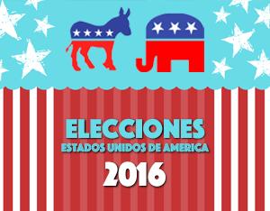 EE.UU. Celebra elecciones generales.