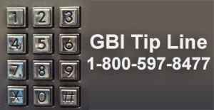 If you have any information about unsolved cases call the GBI Tip Line at 1-800-597-8477