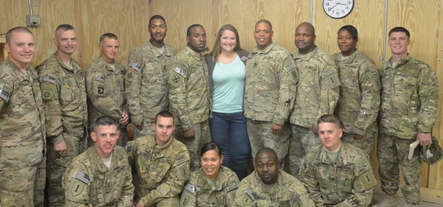 Kandahar Airfield, Afghanistan—Time during deployment drags by, but Soldiers with the1st Combat Aviation Brigade, 1st Infantry Division, know the United Service Organizations at Kandahar Airfield, Afghanistan, provides a way to […]