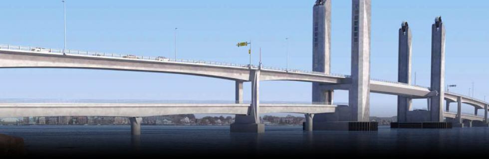 Sarah Mildred Long Bridge Replacement rendering