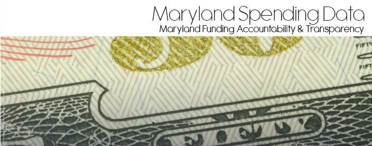 Maryland Spending Data